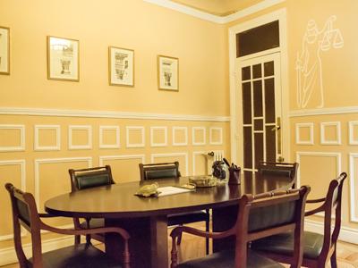 Evangelio Gamero Abogados - Sala de Reuniones